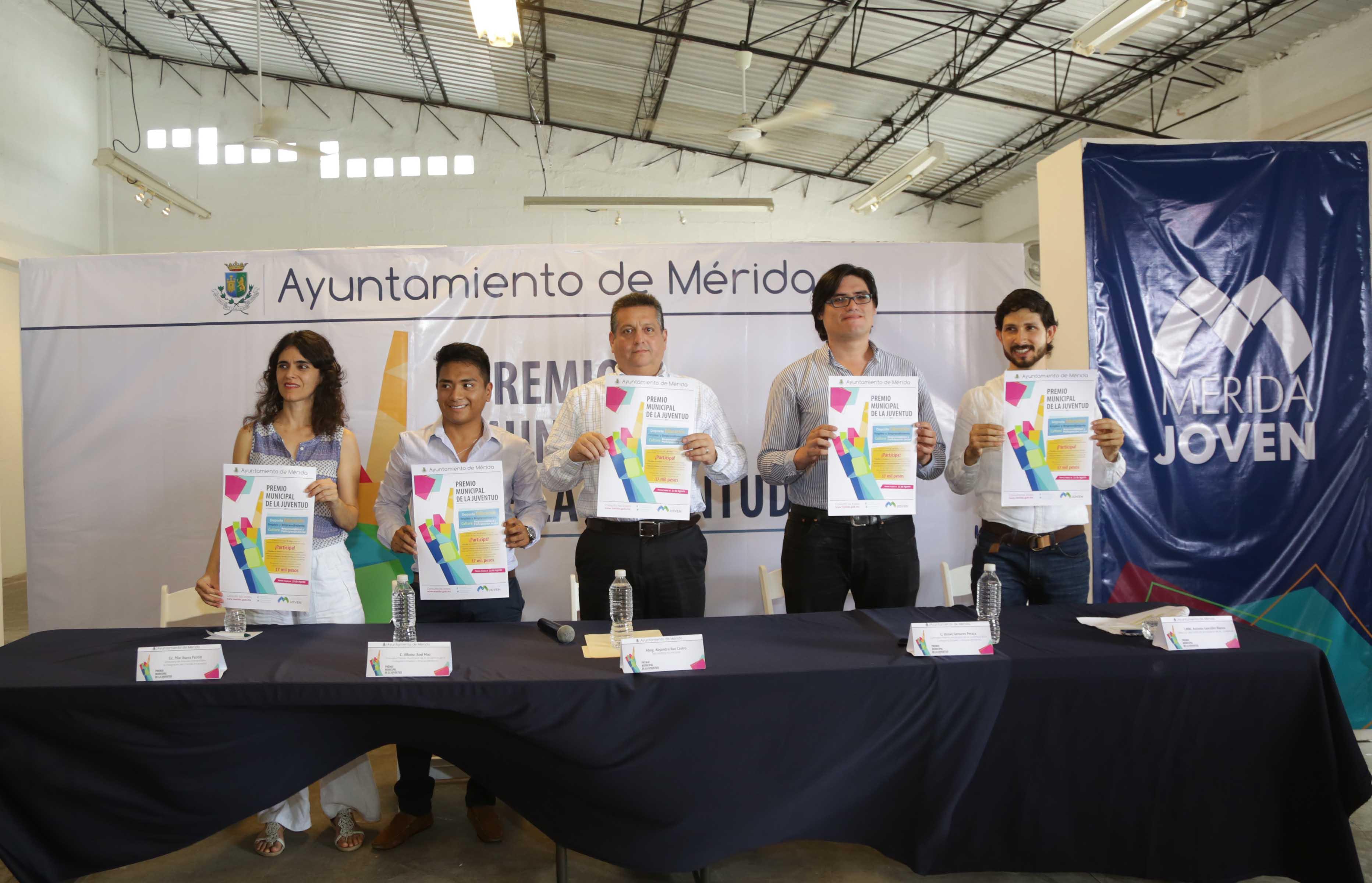 Abren convocatoria al Premio Municipal de la Juventud