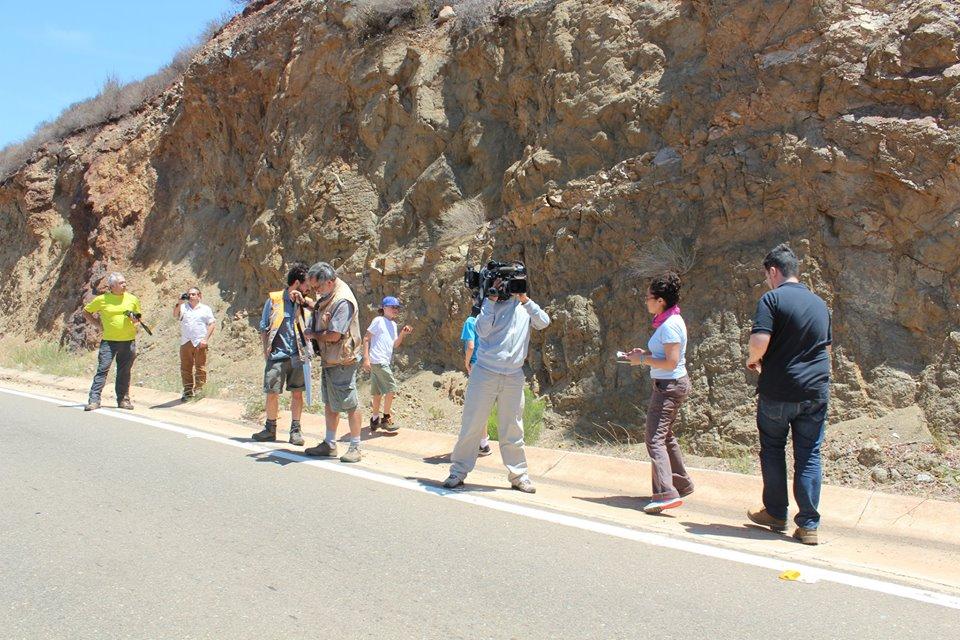 Clases de geología. Foto: Guadalupe López