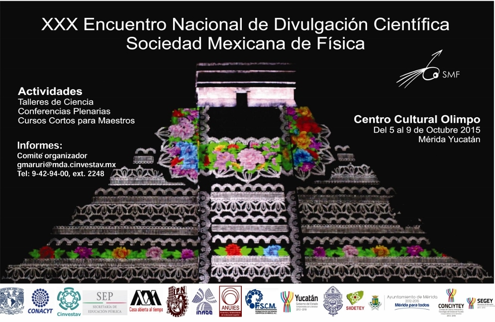 Mérida,  sede de Encuentro Nacional de Divulgación Científica