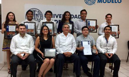 Sobresalen  a nivel nacional alumnos de la Escuela de Derecho y Ciencias Políticas de la Universidad Modelo