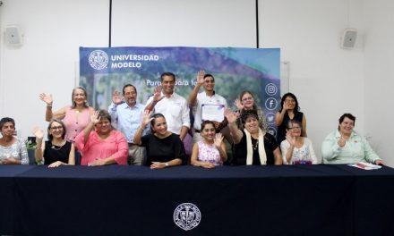 Universidad Modelo dona mobiliario a Asociaciones Civiles