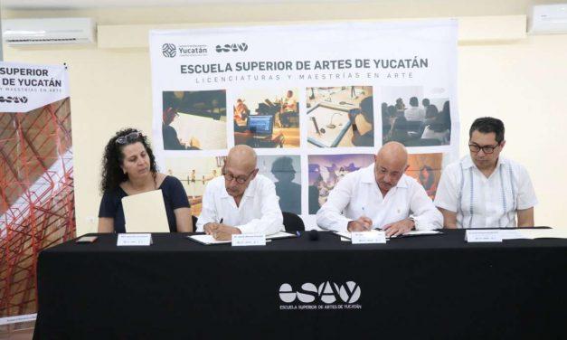 ESAY y UADY renuevan convenio de colaboración
