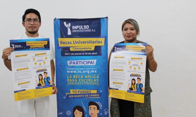 Últimos días para aplicar al Programa de Becas de Impulso Universitario