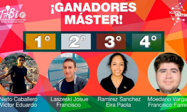 T- BiO el primer Torneo de Biología Online ya tiene ganadores