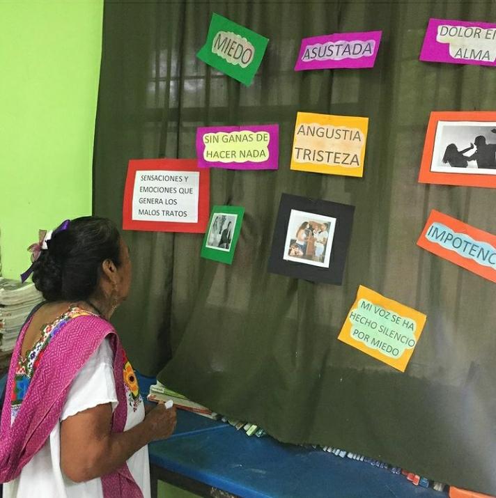 mujer maya yucateca