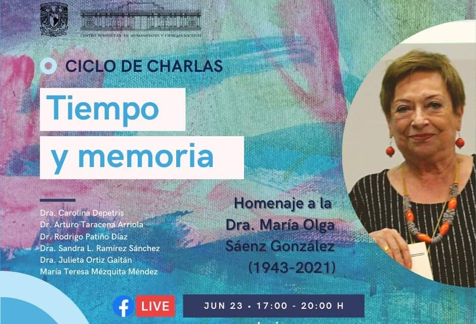 Rinden homenaje a la Dra. Olga Sáenz González, destacada investigadora en arte moderno y contemporáneo de la UNAM