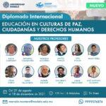 """LA UNIVERSIDAD MODELO PRESENTA EL DIPLOMADO INTERNACIONAL """"EDUCACIÓN EN CULTURAS DE PAZ, CIUDADANÍAS Y DERECHOS HUMANOS"""""""