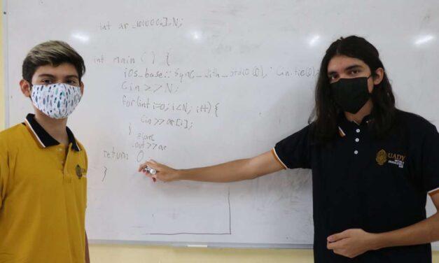 Estudiantes de UADY ganan sitio en Olimpiada de Informática